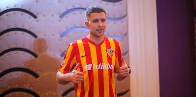 Kayserispor'da Kravets imzaladı!