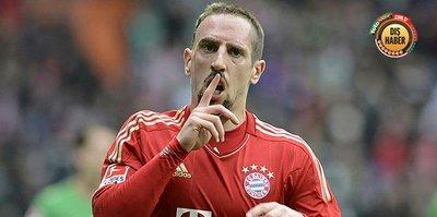 Franck Ribery'nin yeni adresi netleşti