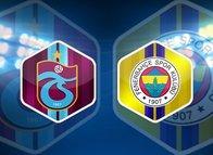 İşte Trabzonspor - Fenerbahçe derbisinin ilk 11'leri
