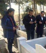 Trabzonspor'dan eski futbolcu Turgut Uçar'ın kabrine ziyaret