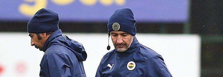 Fenerbahçe, Trabzonspor derbisi öncesinde idmanda...