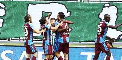 Trabzonspor deplasman fobisini yendi!