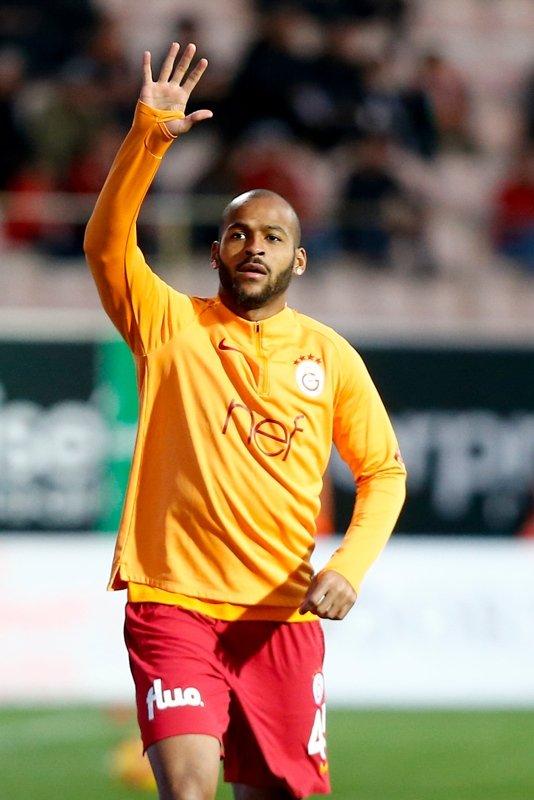 Alanyaspor - Galatasaray maçından kareler