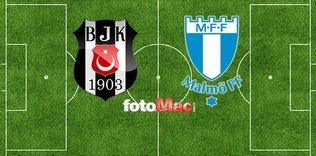 Beşiktaş - Malmö maçı ne zaman saat kaçta ve hangi kanalda yayınlanacak?