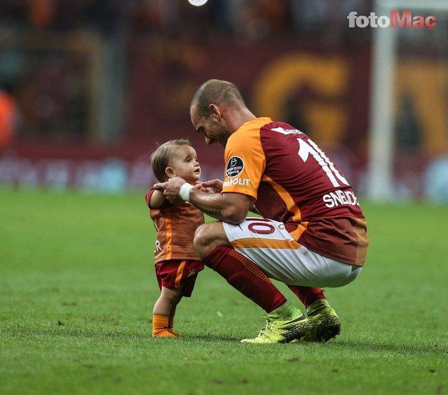 Sneijder: Kadıköy'de kendimi güçsüz ve kötü hissediyordum