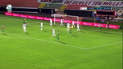 GOL | Alanyaspor 2-1 BB Erzurumspor