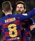 Barcelona Kral Kupası'nda son 8'de!