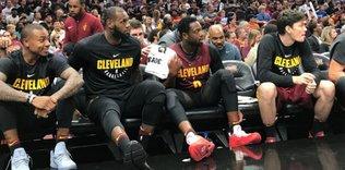 LeBron James'ten Cedi'ye tam destek