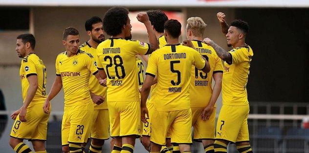 Paderborn 1-6 Borussia Dortmund | MAÇ ÖZETİ İZLE - Almanya Bundesliga -