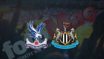 Crystal Palace - Newcastle United maçı saat kaçta ve hangi kanalda?