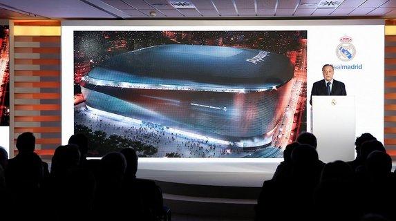 Real Madrid'in yeni uzay üssü
