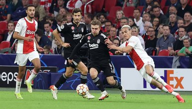 Ajax Beşiktaş: 2-0   MAÇ SONUCU ÖZET   Beşiktaş Hollanda'dan mağlup döndü