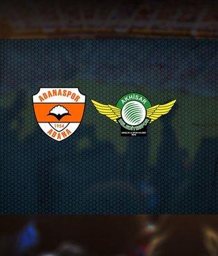 Adanaspor Akhisarspor maçı saat kaçta ve hangi kanalda canlı yayınlanacak?