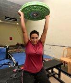 Simge Elif, yürümeyi ve Avrupa şampiyonluğunu hedefliyor