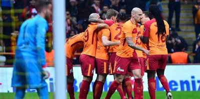 Galatasaray ile Konyaspor  34. randevuda