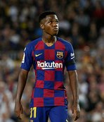 Barça'nın genç yeteneği Ansu Fati milli takımını seçti