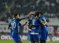 Konyaspor - Kasımpaşa maçından kareler