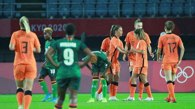 Tokyo 2020'de Hollanda'dan 10 gollü açılış!
