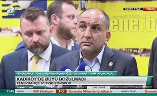Semih Özsoy: Volkan'ın dediği bizim için esastır