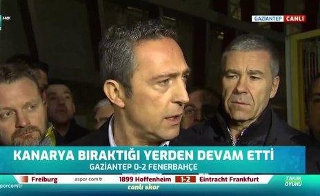 Ali Koç: Fenerbahçe şu an transfer yapamıyor