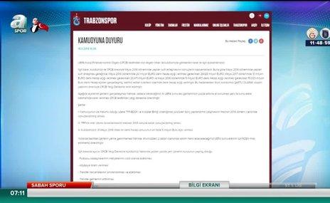 Trabzonspor'dan FFP açıklaması