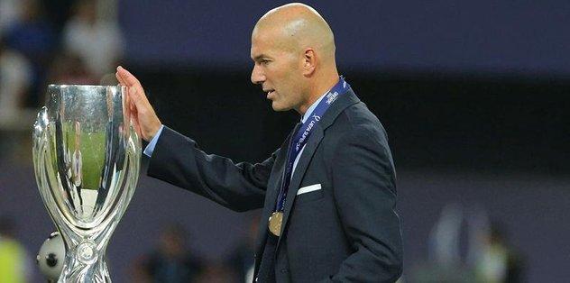Zidane kupaya doymuyor