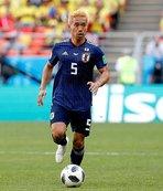 Dünya Kupası'nda Nagatomo'lu Japonya'dan bir ilk!