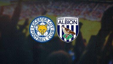 Leicester City-West Bromwich Albion maçı ne zaman, saat kaçta ve hangi kanalda CANLI yayınlanacak? Muhtemel 11'lerde kimler var?
