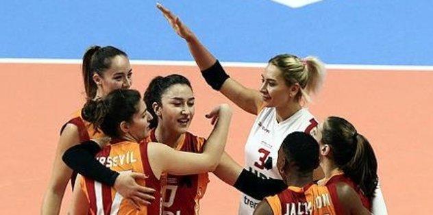 Galatasaray Avrupa'da kükredi