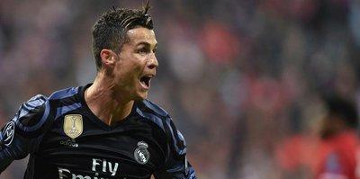 Cristiano Ronaldo çok mutlu!
