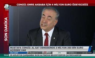 Mustafa Cengiz: İnşallah Ndiaye de olacak