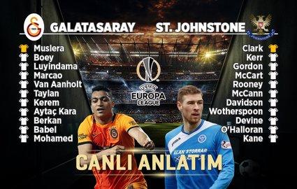 Galatasaray - St. Johnstone | CANLI