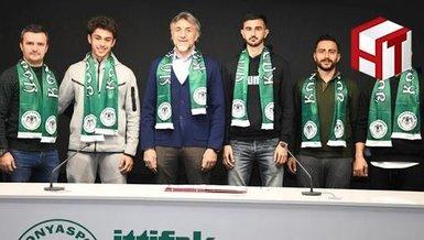 İsmail Kartal'ın oğlu Konyaspor'a transfer oldu!