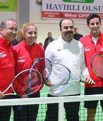 Şanlıurfa'da tenis tesisi açıldı