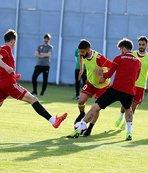 Sivasspor'da izin yok, idman var!
