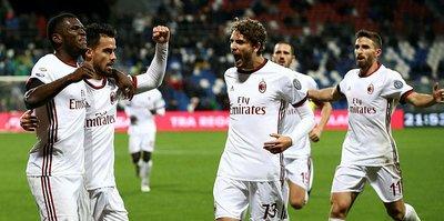 Milan, Sassuolo'yu deplasmanda devirdi