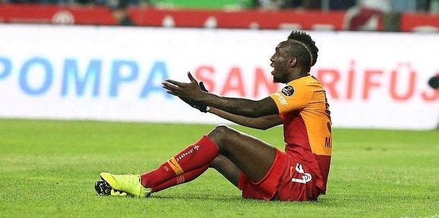 Galatasaray'da Diagne'ye tepki!