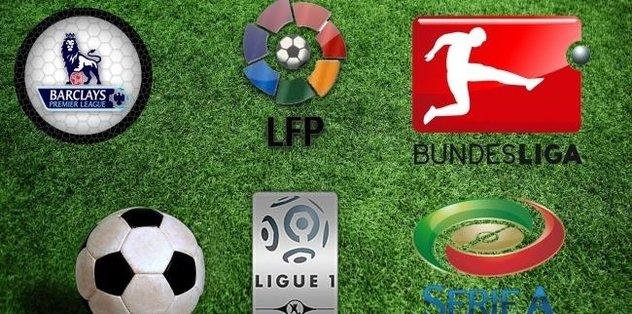 Yeşil sahalarda önemli maçlar haftası