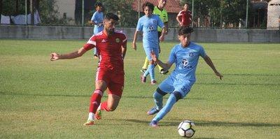 Malatyaspor hazırlık maçında farklı kazandı