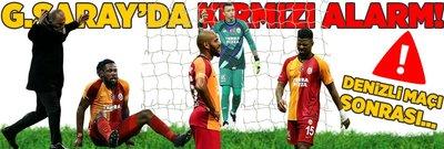 G.Saray'da acil durum! Denizlispor maçı sonrası...