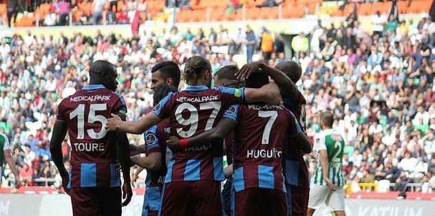 Trabzonspor Beşiktaş'ı eli boş göndermek istiyor