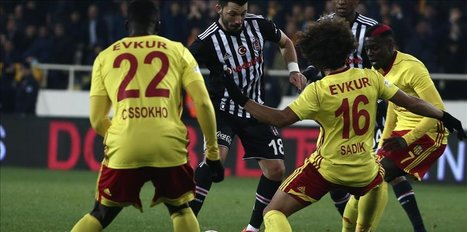 Besiktas continue to get draws in league