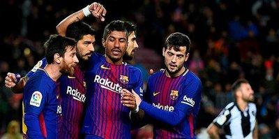 Barcelona namağlup liderliğini sürdürdü