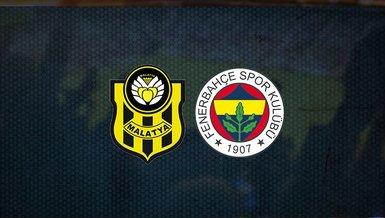 Son dakika spor haberi: Yeni Malatyaspor - Fenerbahçe maçı ne zaman saat kaçta ve hangi kanalda?