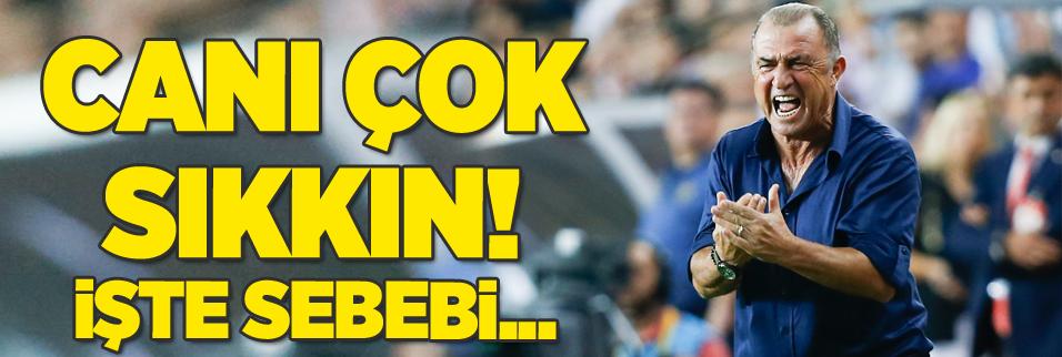 İşte Galatasaray'da Fatih Terim'in canını sıkan mesele!