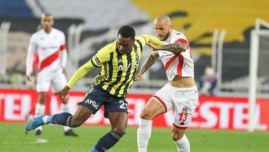 Fenerbahçe - Antalyaspor: 1-1 (MAÇ SONUCU - ÖZET)