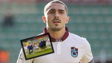Trabzonsporlu futbolculardan Abdülkadir Ömür için anlamlı hareket!