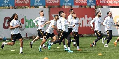 Galatasaray, Medipol Başakşehir'e hazır