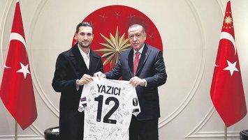 Yusuf Yazıcı'dan Başkan Erdoğan'a ziyaret