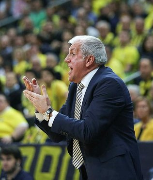 Fenerbahçe'de Zeljko Obradovic: Anadolu Efes kazanmayı hak etti